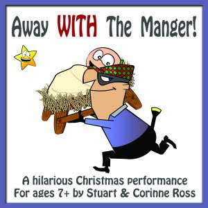 Away WITH The Manger Christmas Nativity Play