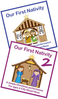 Our First Nativity One & Two
