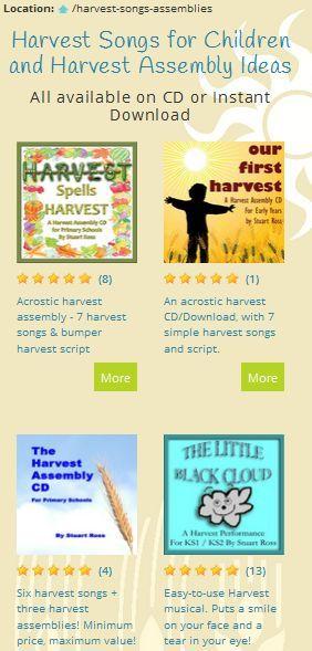 Harvest Assembly Ideas