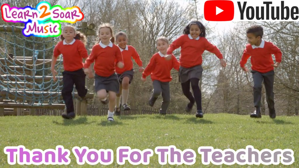 Thank You For The Teachers - NEW Lyric Video for ThankATeacher Day